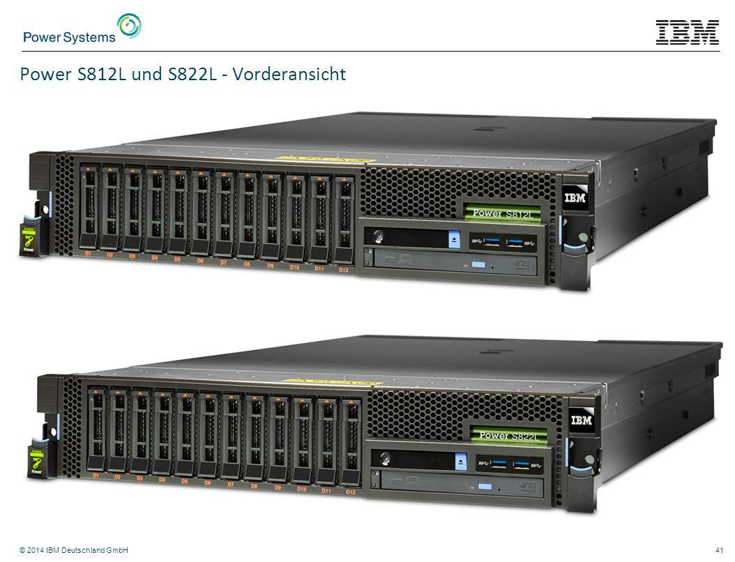 Power S812L und S822L - Vorderansicht