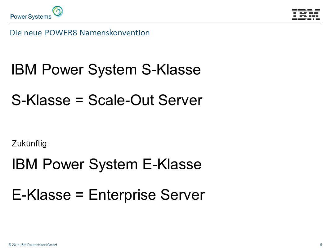 IBM Power System S-Klasse