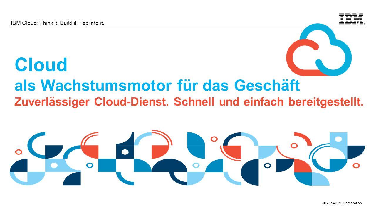 Cloud als Wachstumsmotor für das Geschäft Zuverlässiger Cloud-Dienst