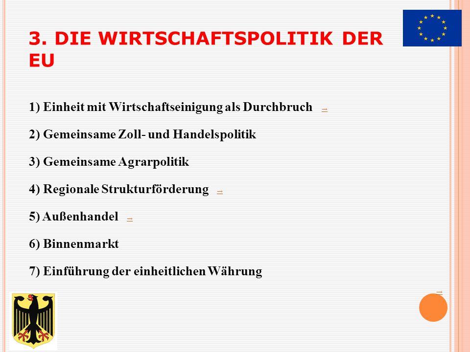 3. DIE WIRTSCHAFTSPOLITIK DER EU