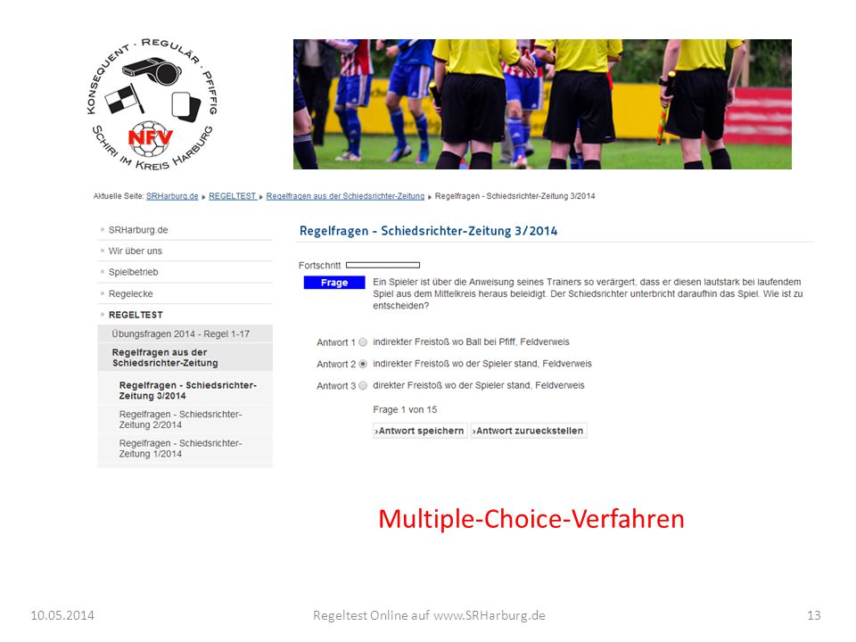 Multiple-Choice-Verfahren