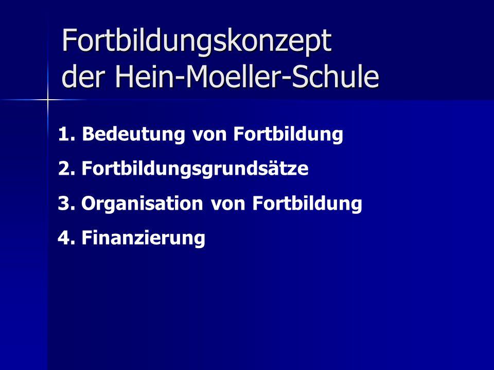 Fortbildungskonzept der Hein-Moeller-Schule