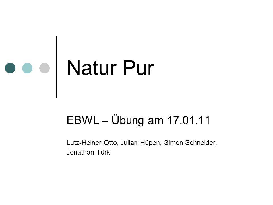 Natur Pur EBWL – Übung am 17.01.11