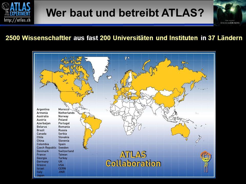 Wer baut und betreibt ATLAS