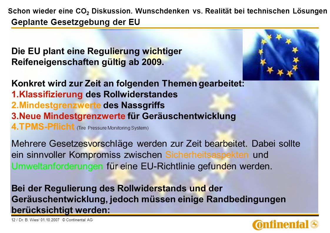 Geplante Gesetzgebung der EU