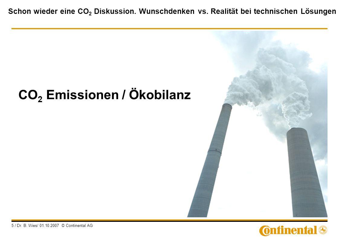 CO2 Emissionen / Ökobilanz