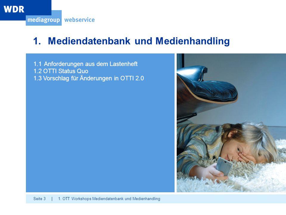Mediendatenbank und Medienhandling