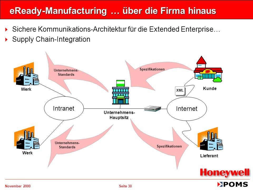 eReady-Manufacturing … über die Firma hinaus