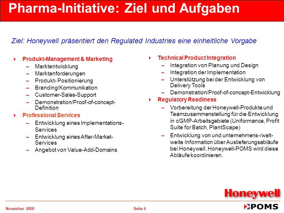 Pharma-Initiative: Ziel und Aufgaben