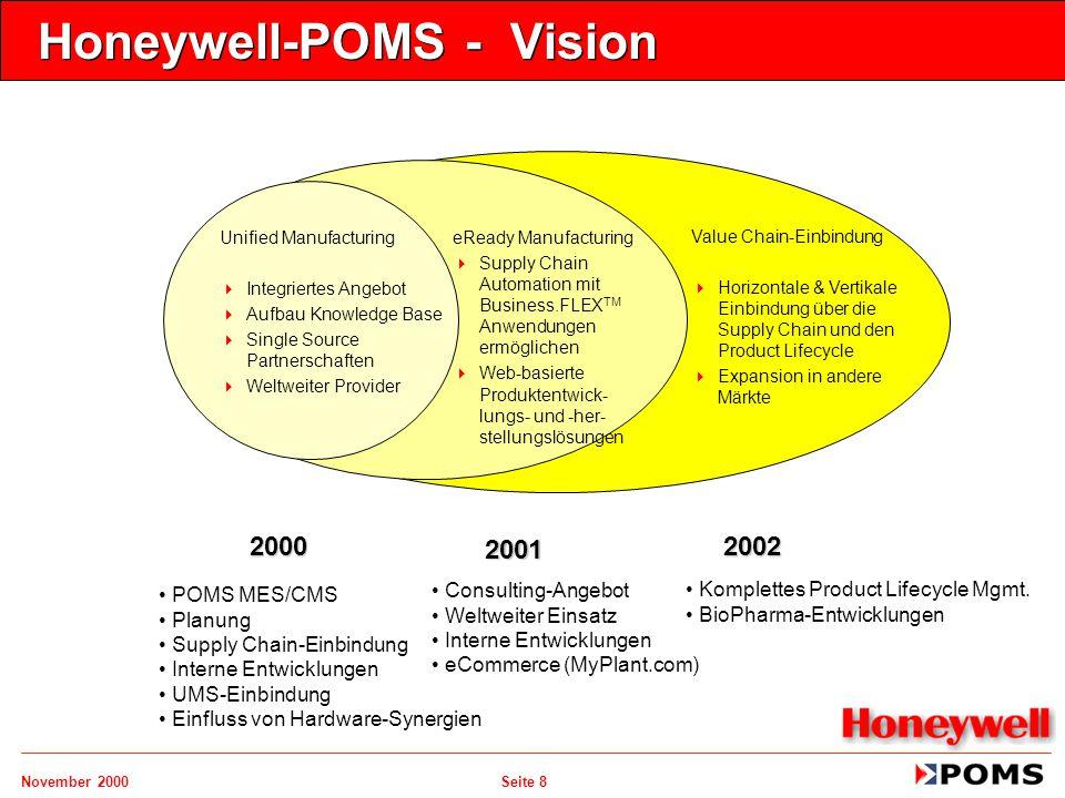 Honeywell-POMS - Vision
