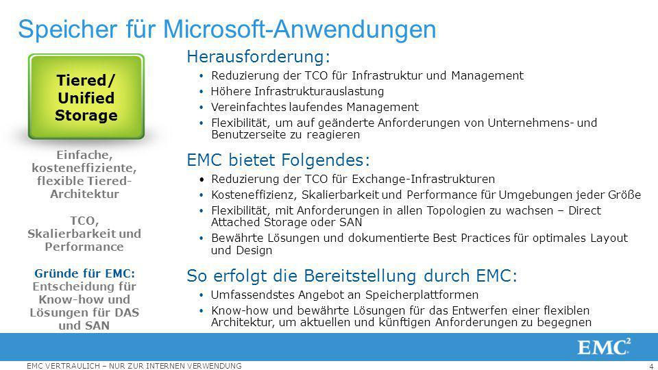 Speicher für Microsoft-Anwendungen