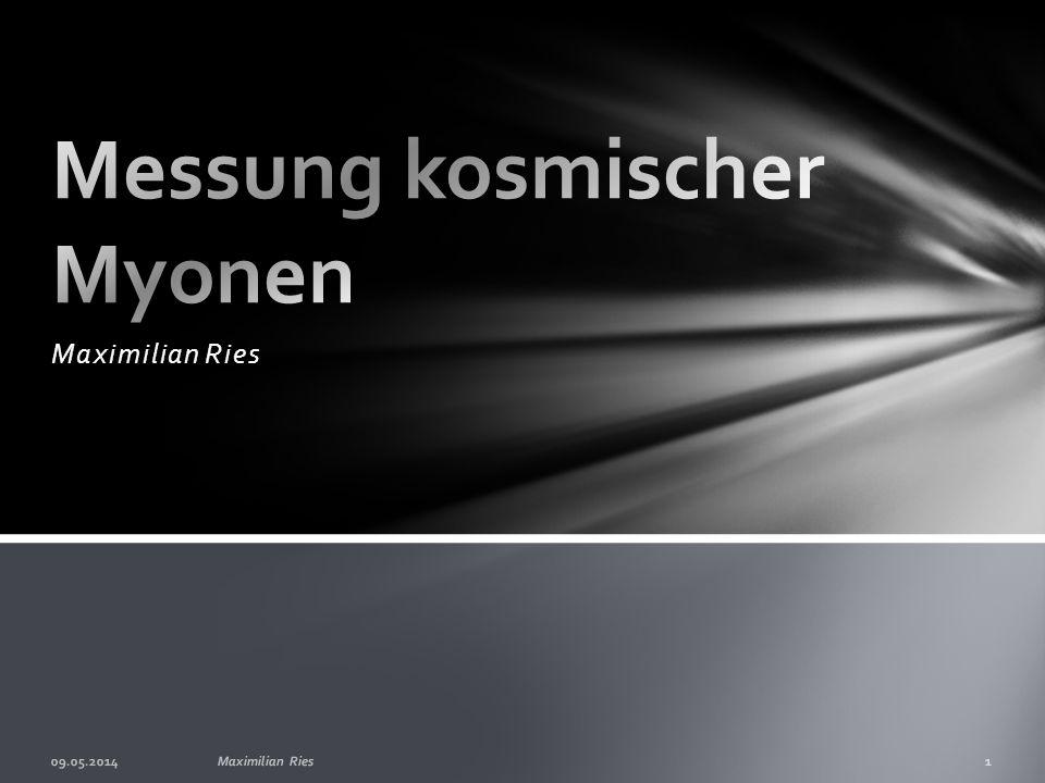 Messung kosmischer Myonen