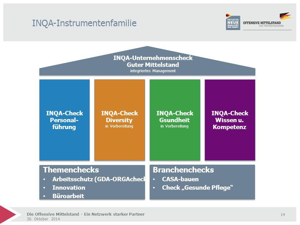 INQA-Instrumentenfamilie