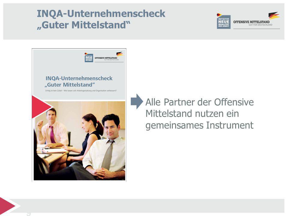 """INQA-Unternehmenscheck """"Guter Mittelstand"""