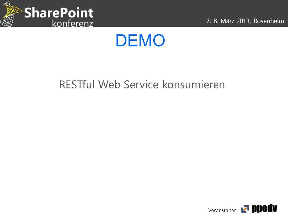 RESTful Web Service konsumieren