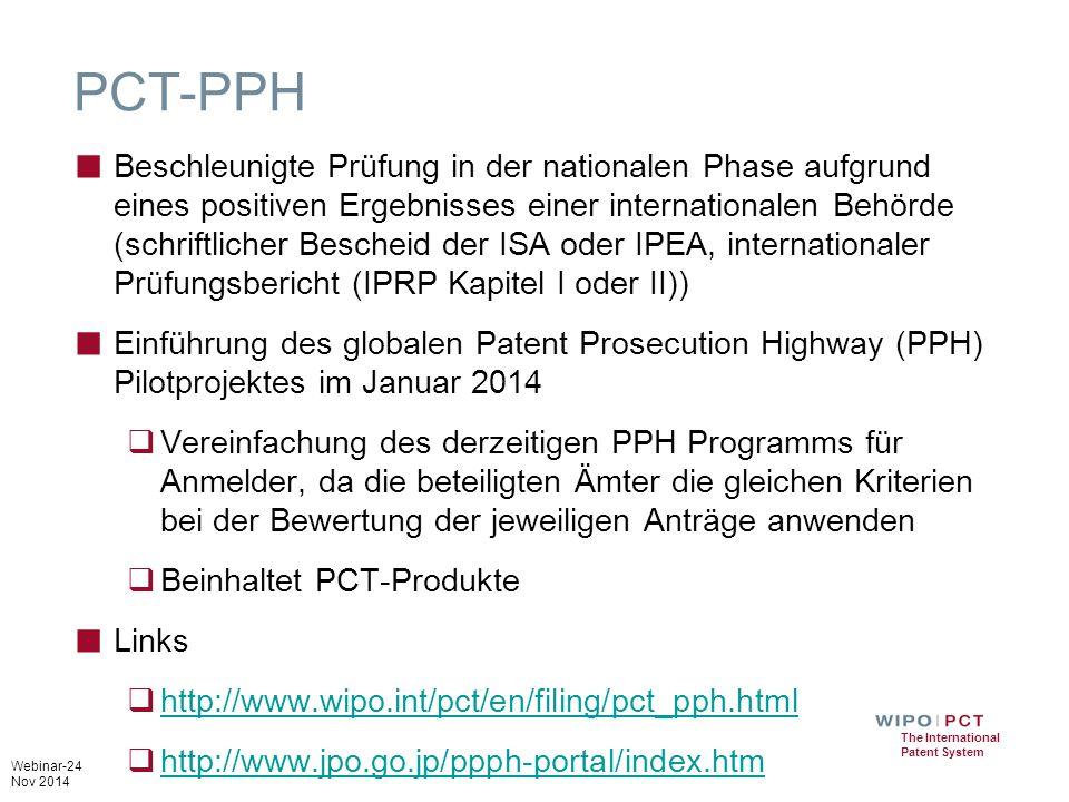 PCT-PPH