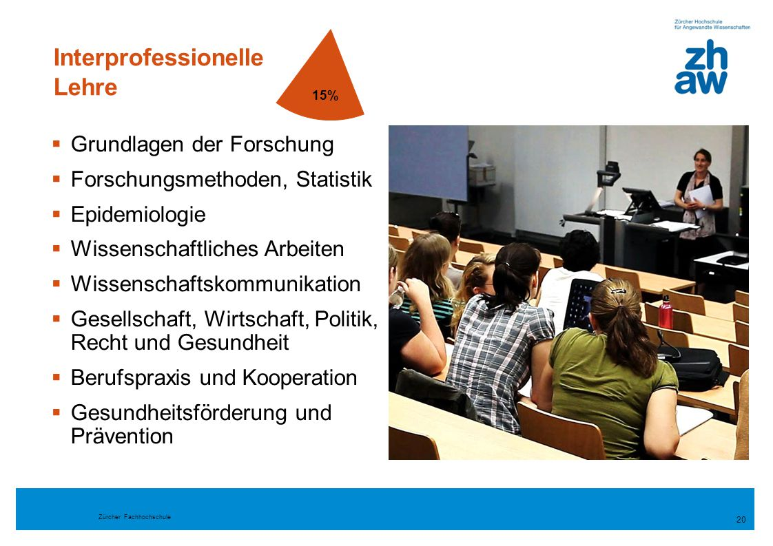 Interprofessionelle Lehre