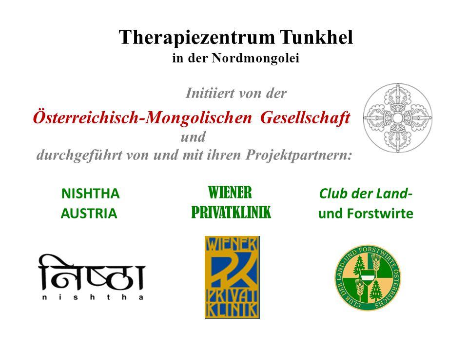 Therapiezentrum Tunkhel in der Nordmongolei Initiiert von der