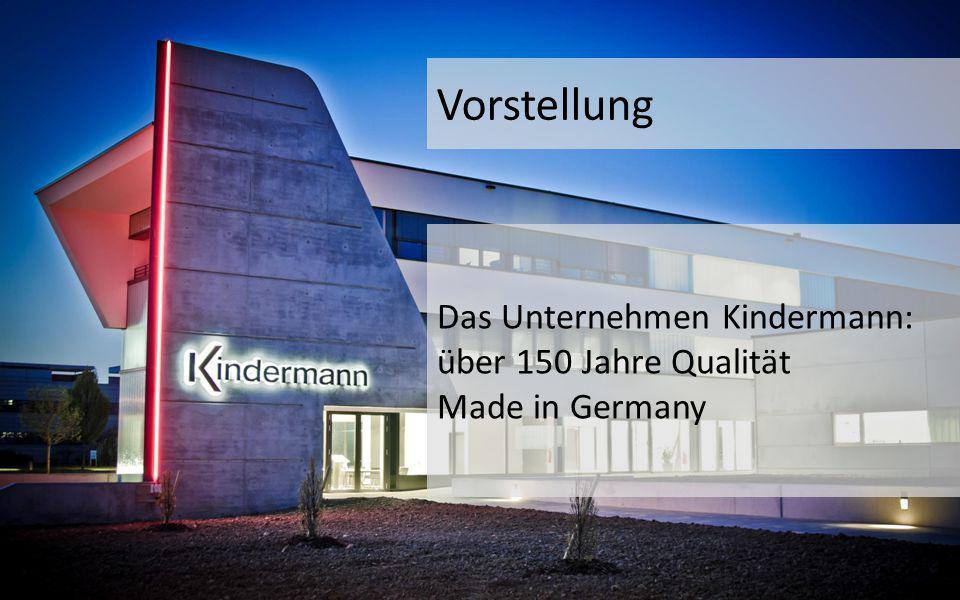 Vorstellung Das Unternehmen Kindermann: über 150 Jahre Qualität