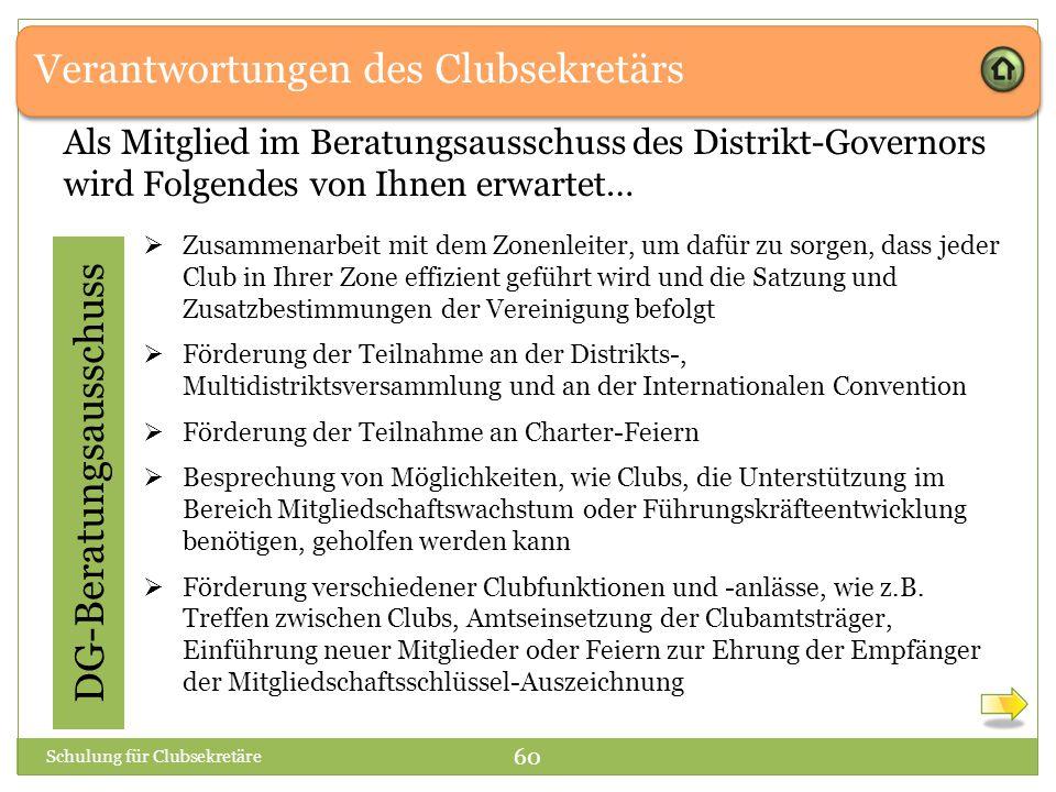 DG-Beratungsausschuss