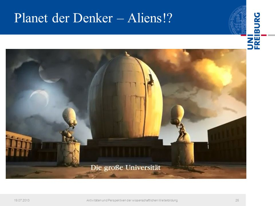 Planet der Denker – Aliens!