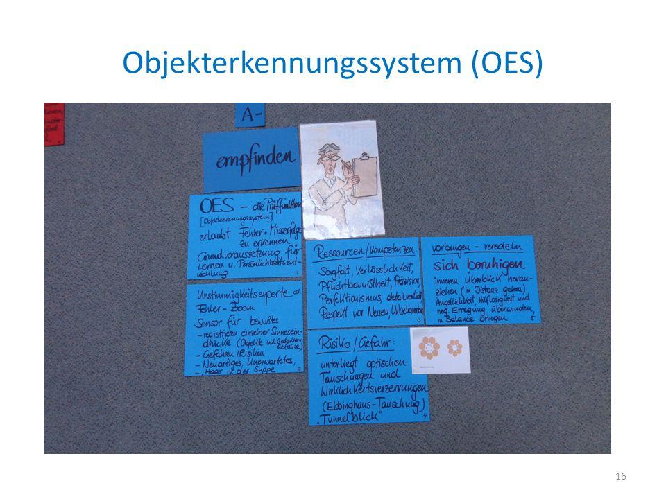 Objekterkennungssystem (OES)