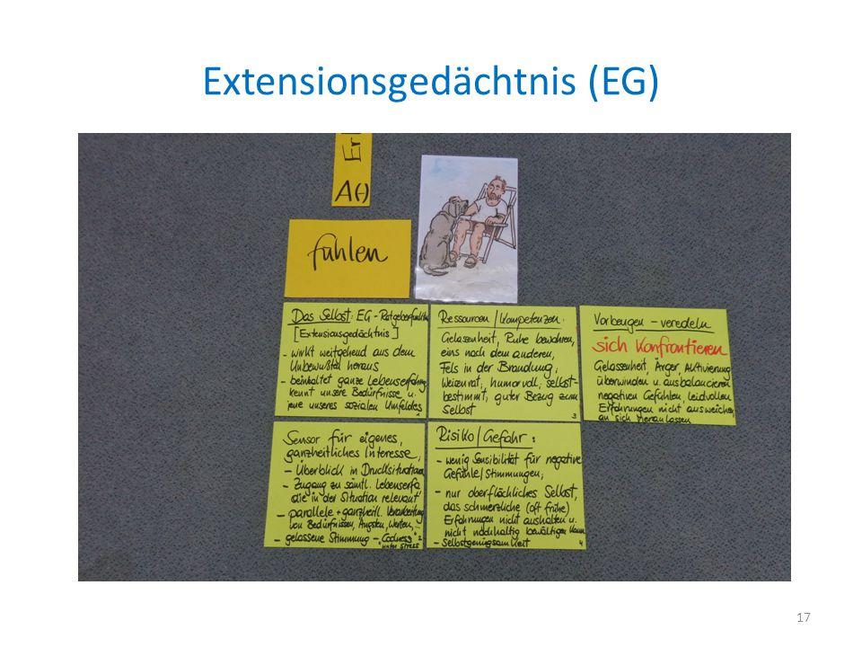 Extensionsgedächtnis (EG)