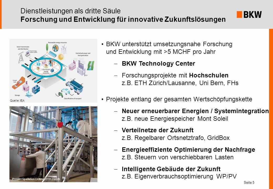 Dienstleistungen als dritte Säule Forschung und Entwicklung für innovative Zukunftslösungen