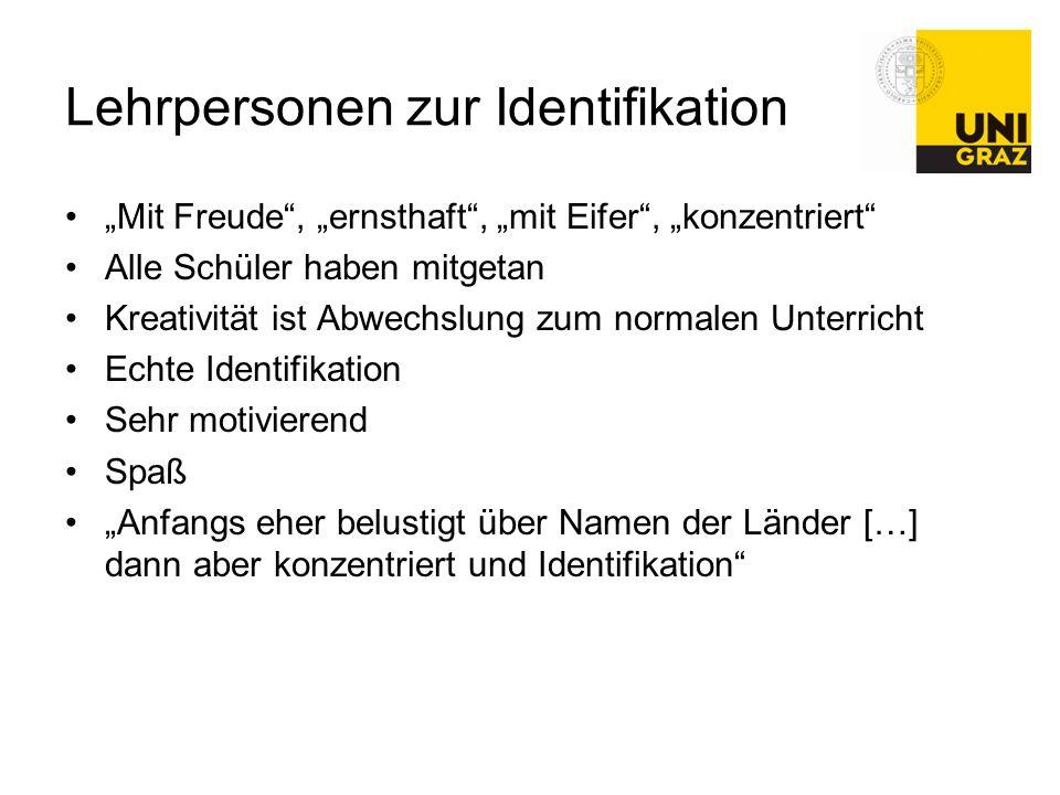 Lehrpersonen zur Identifikation
