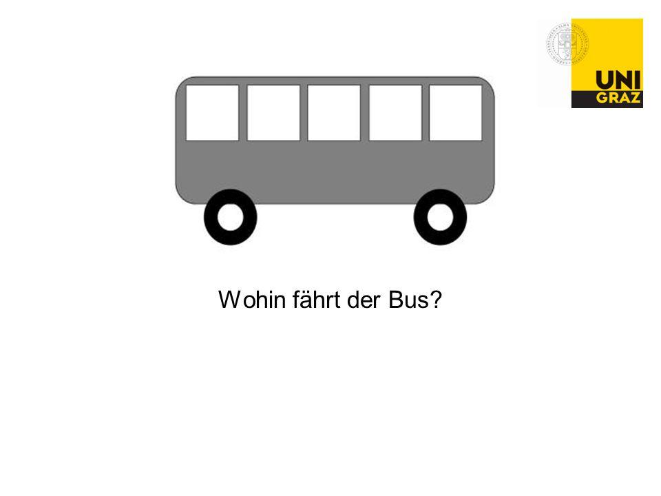 Wohin fährt der Bus
