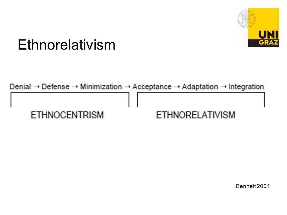 Ethnorelativism Bennett 2004