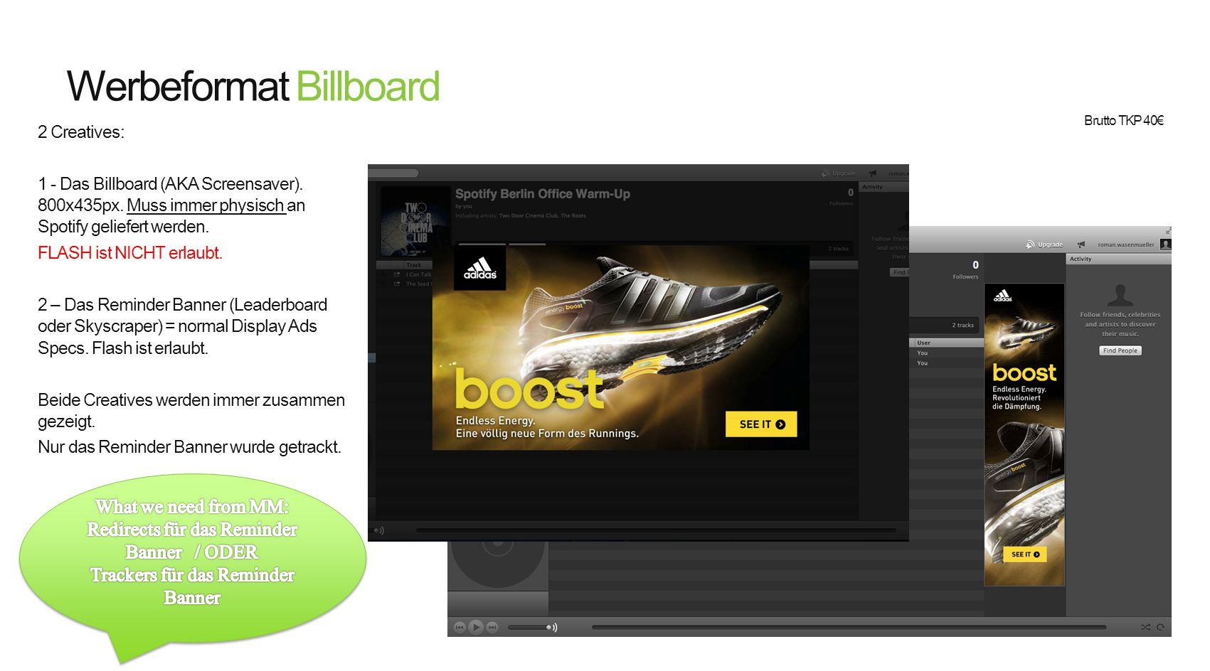 Werbeformat Billboard