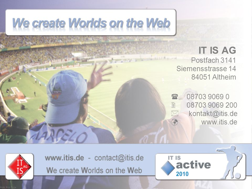 We create Worlds on the Web