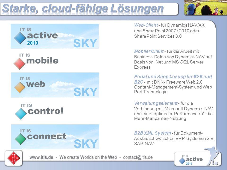 Starke, cloud-fähige Lösungen