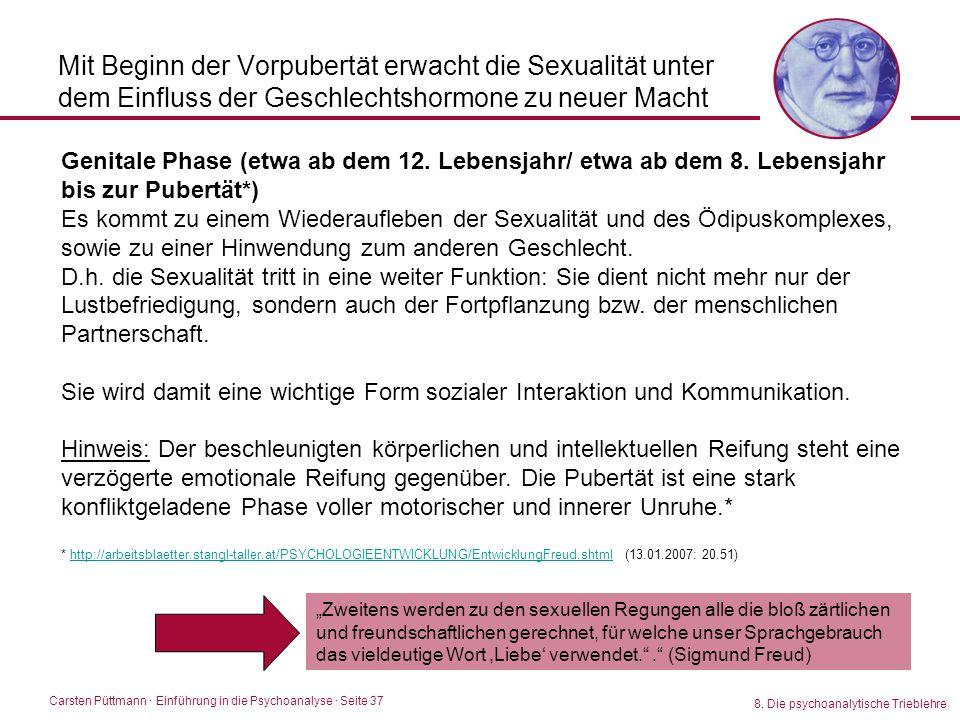 Mit Beginn der Vorpubertät erwacht die Sexualität unter dem Einfluss der Geschlechtshormone zu neuer Macht
