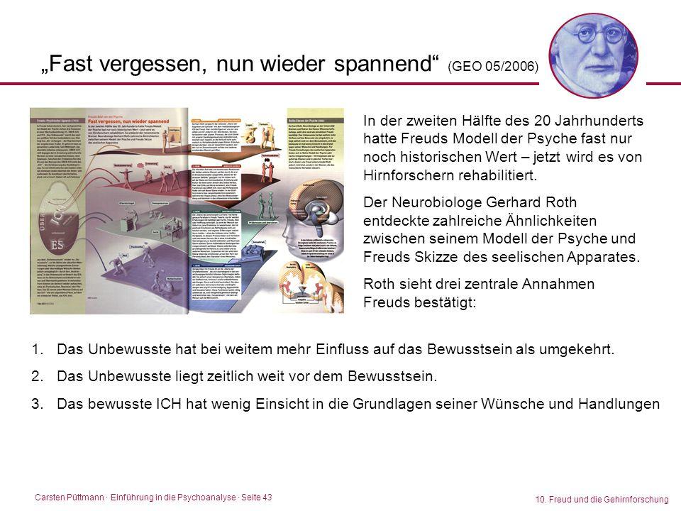 """""""Fast vergessen, nun wieder spannend (GEO 05/2006)"""
