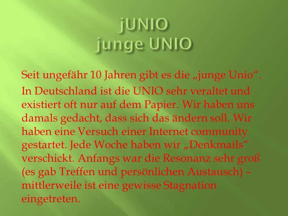 jUNIO junge UNIO