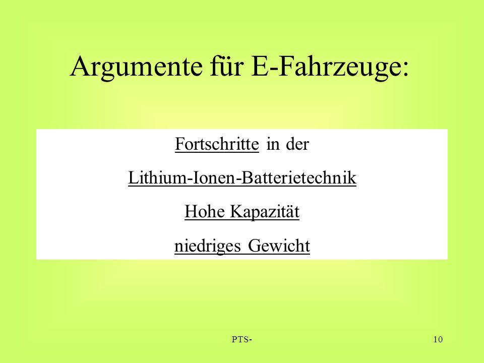 Lithium-Ionen-Batterietechnik