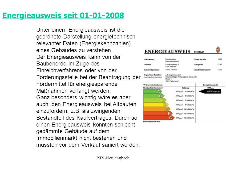 Energieausweis seit 01-01-2008