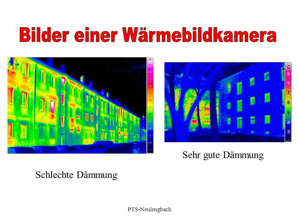 Bilder einer Wärmebildkamera