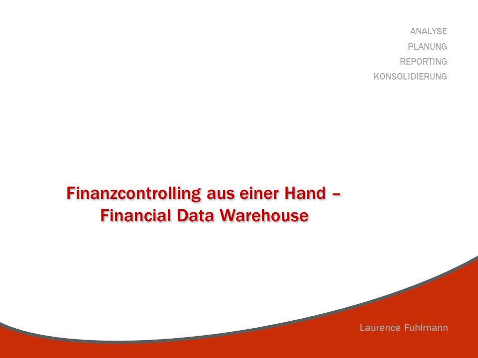 Finanzcontrolling aus einer Hand – Financial Data Warehouse
