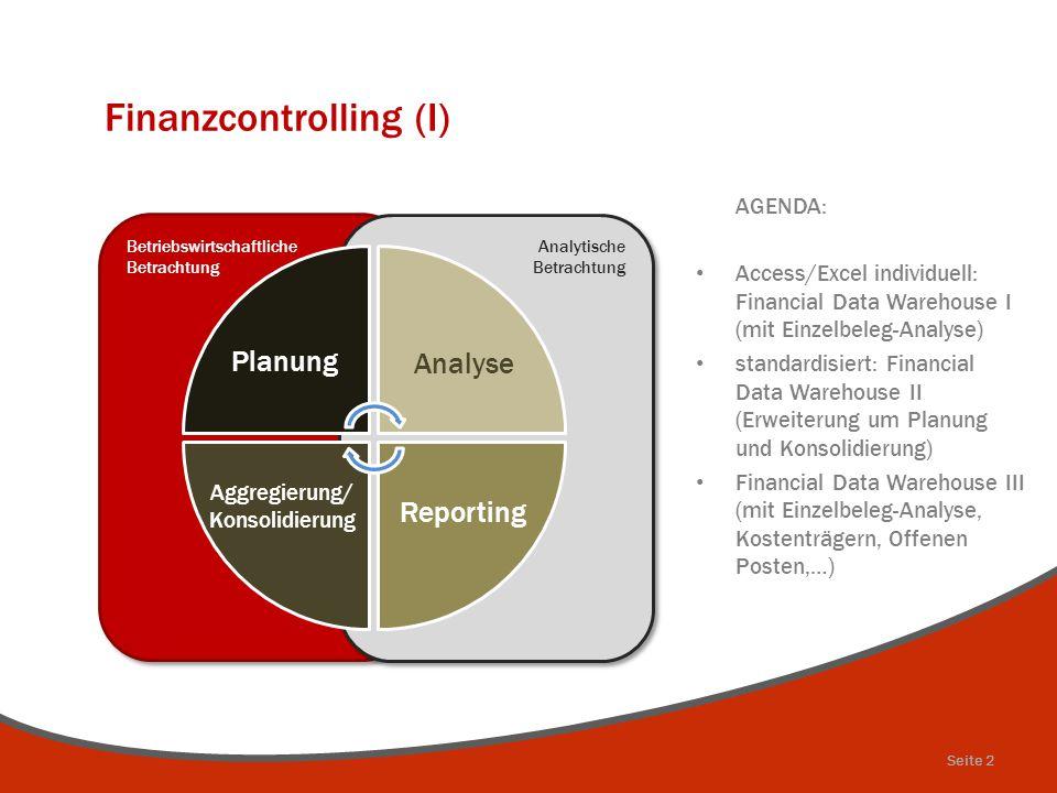 Finanzcontrolling (I)