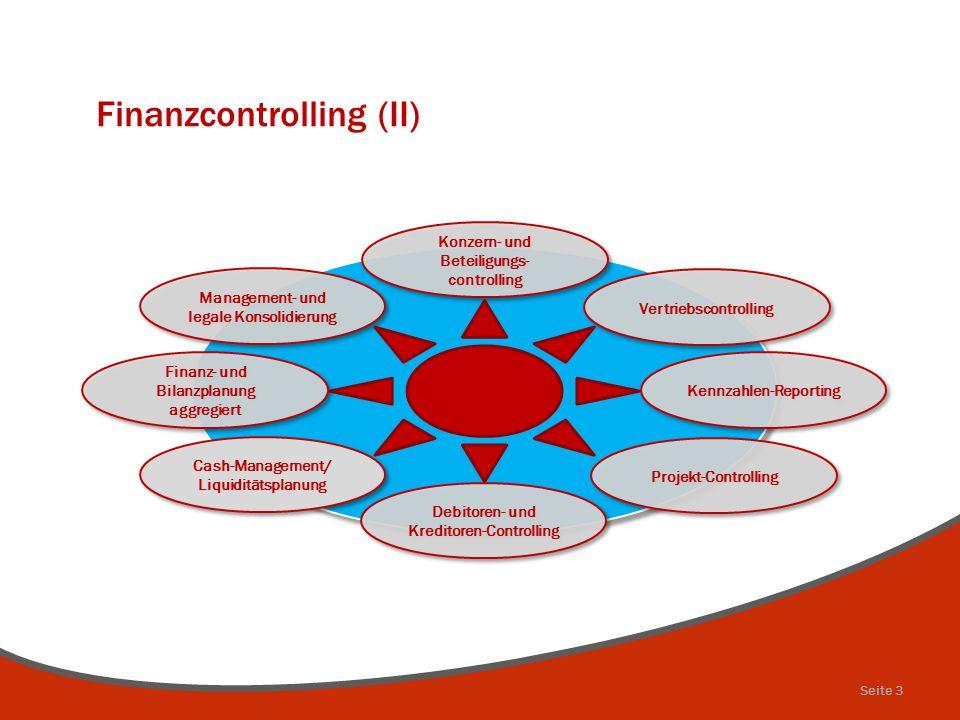 Finanzcontrolling (II)