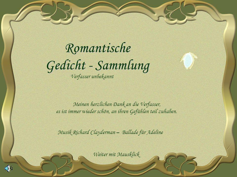 Romantische Gedicht - Sammlung