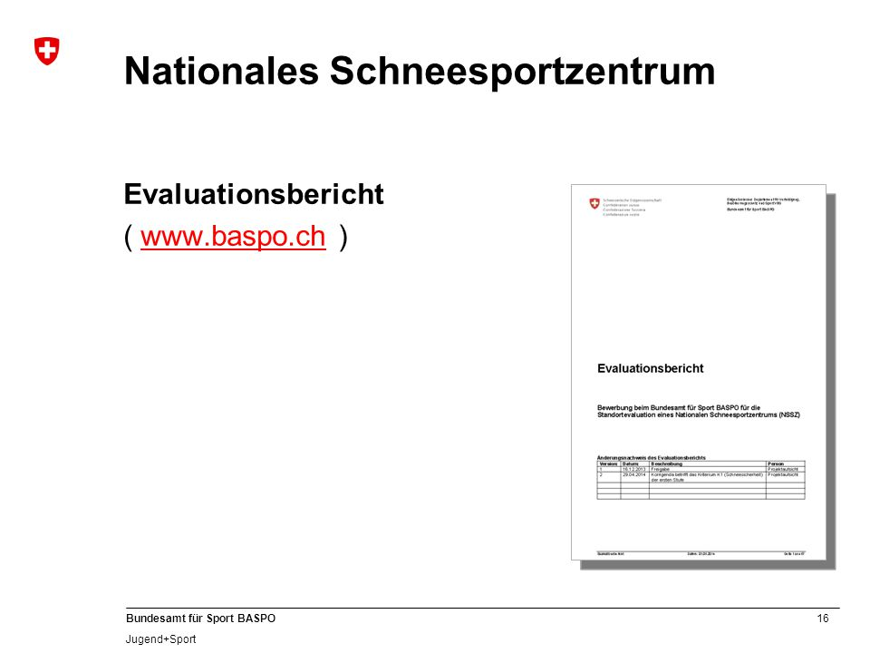 Nationales Schneesportzentrum