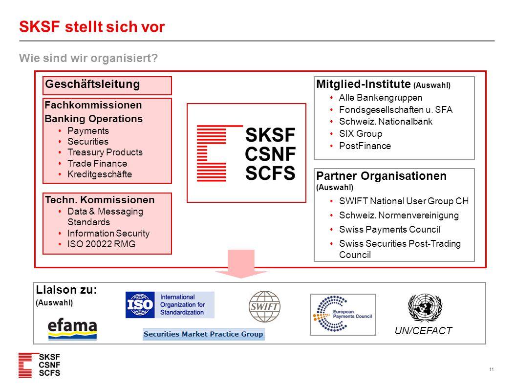 SKSF stellt sich vor Organisations-Struktur Stand Jan. 2011