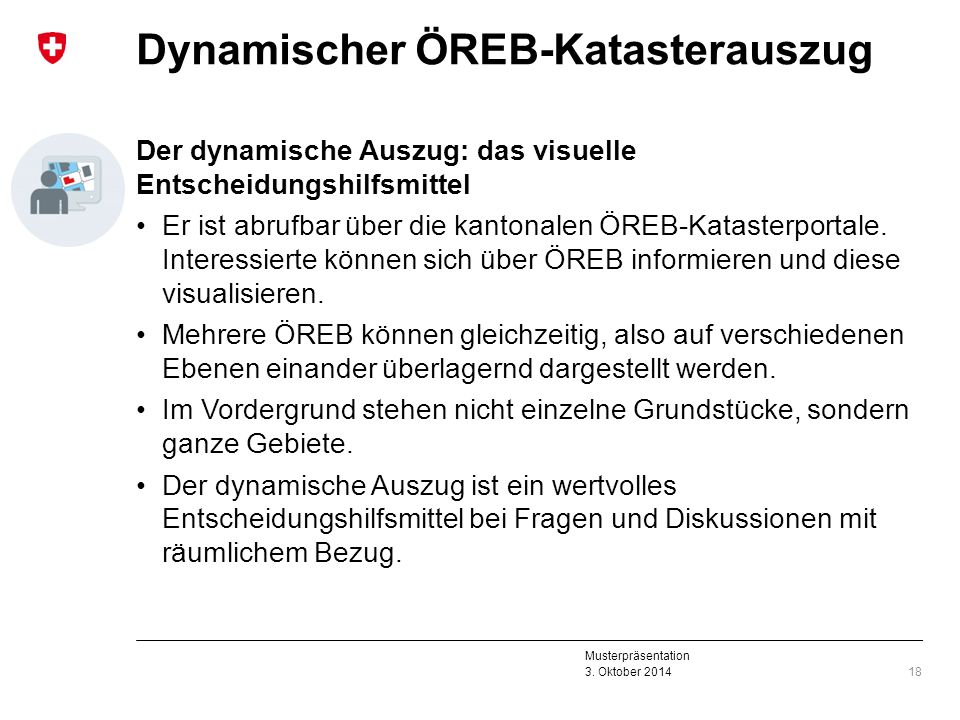 Dynamischer ÖREB-Katasterauszug