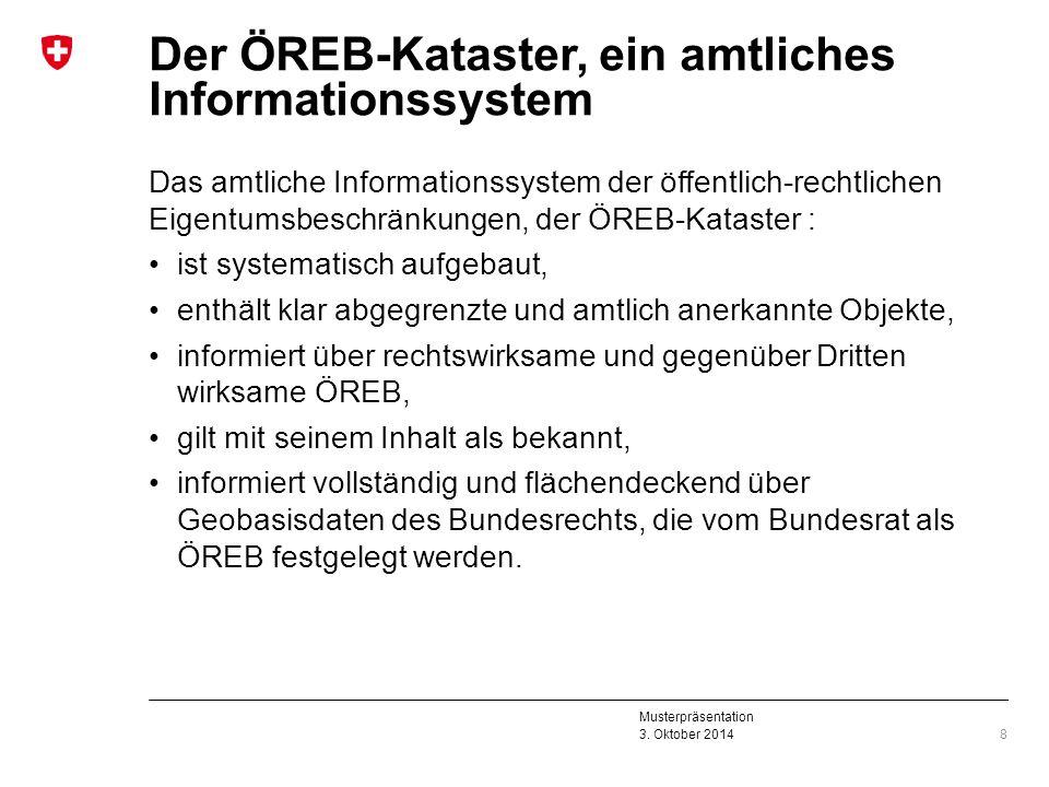 Der ÖREB-Kataster, ein amtliches Informationssystem