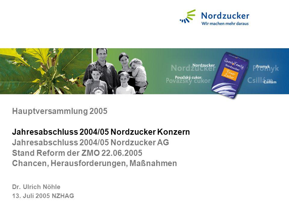 Dr. Ulrich Nöhle 13. Juli 2005 NZHAG