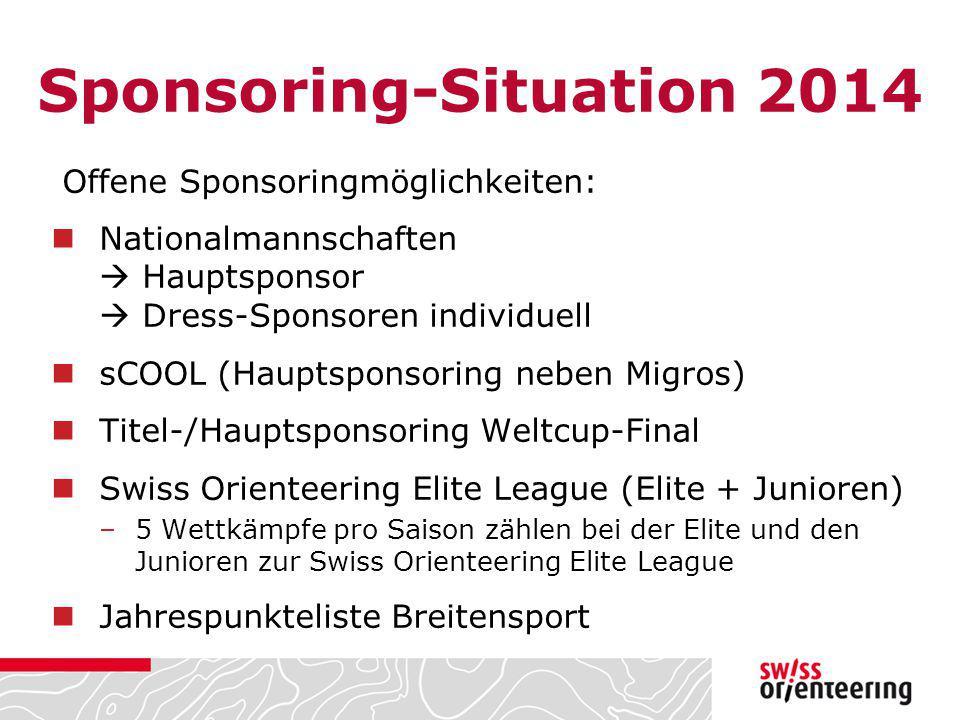Sponsoring-Situation 2014